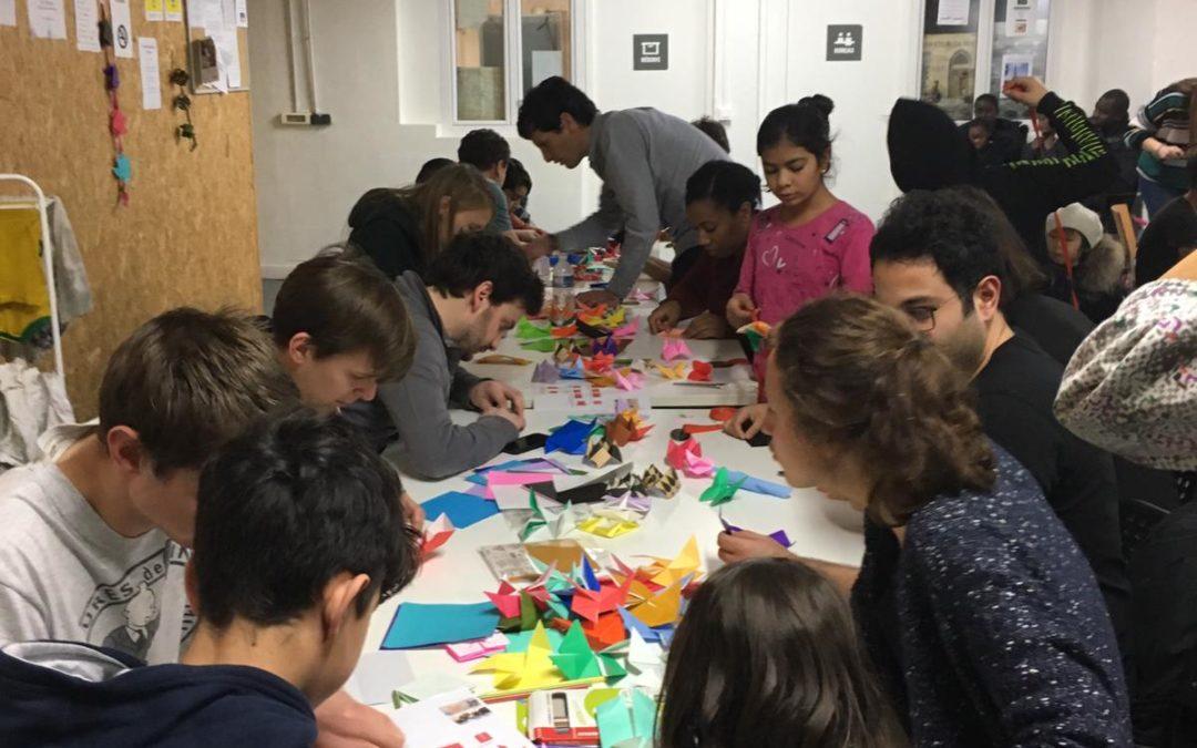 Origami ou l'art du papier plié